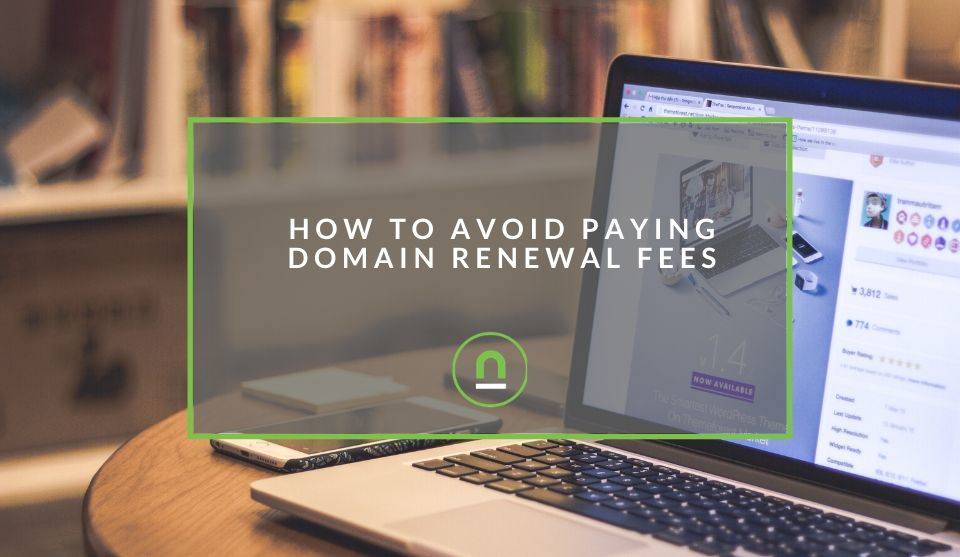 Stop paying domain renewal fees for your website