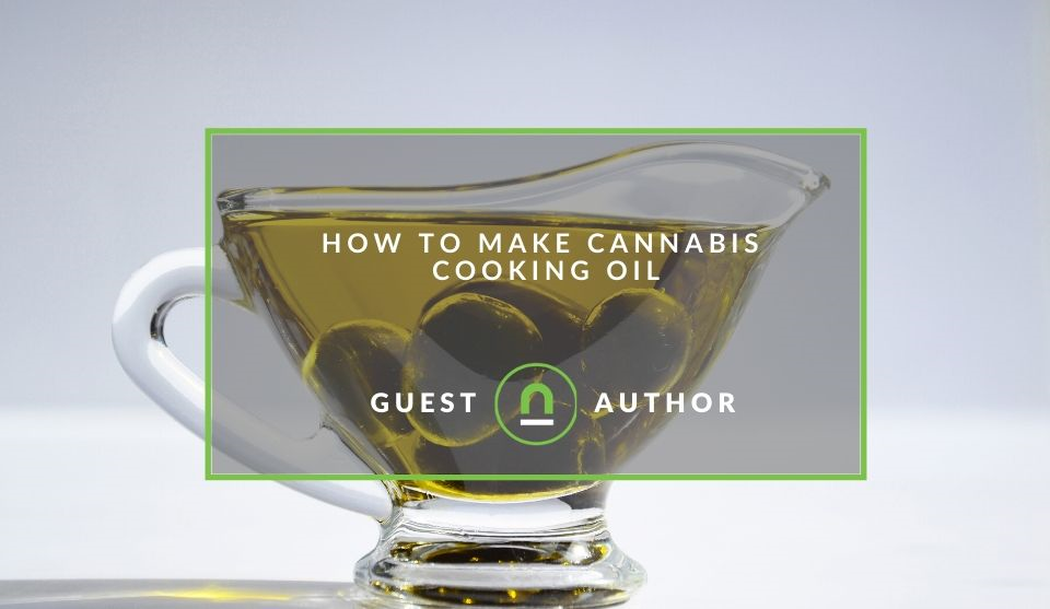Homemade cannabis cooking oil tips