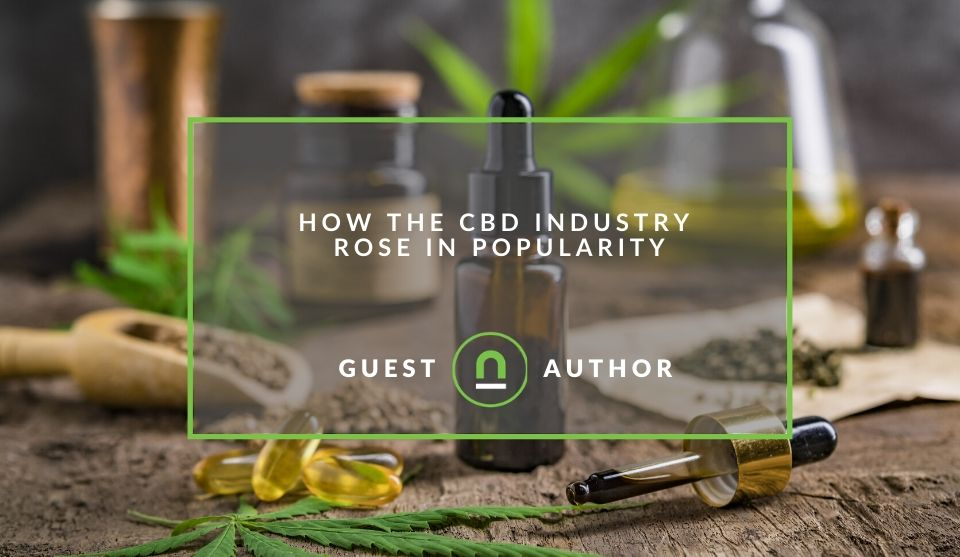 How CBD products become popular