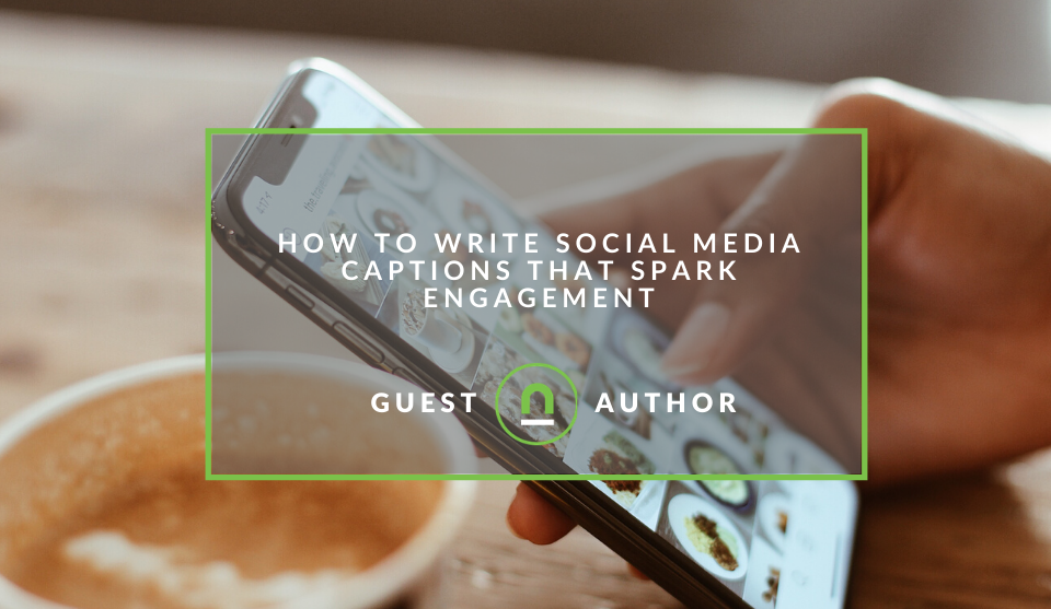 How to drive social media engagement with captions