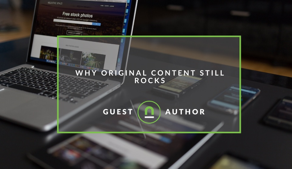 The power of original content for business blogs