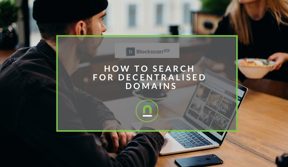 Search for decentralised domains