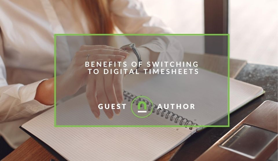 Why switch to digital time sheets