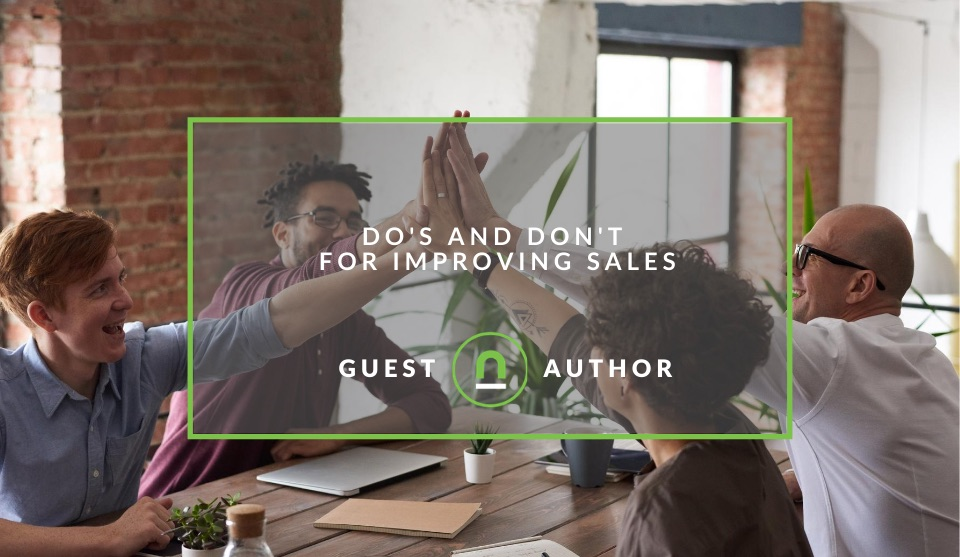How to improve your company sales