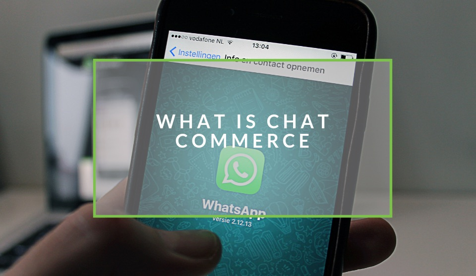 What is chat commerce