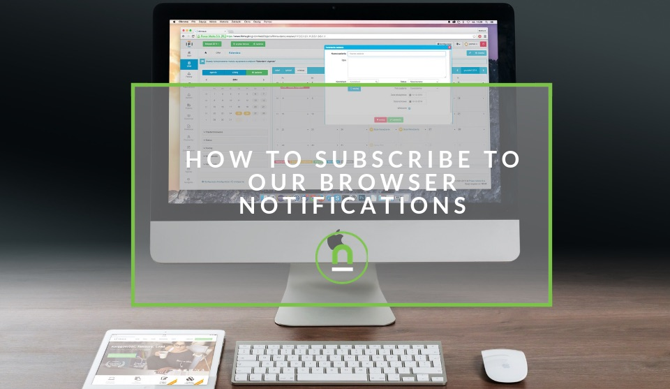 How to subscribe to our browser notifications