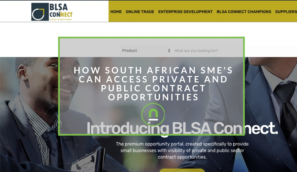 Contract portal for South African SME