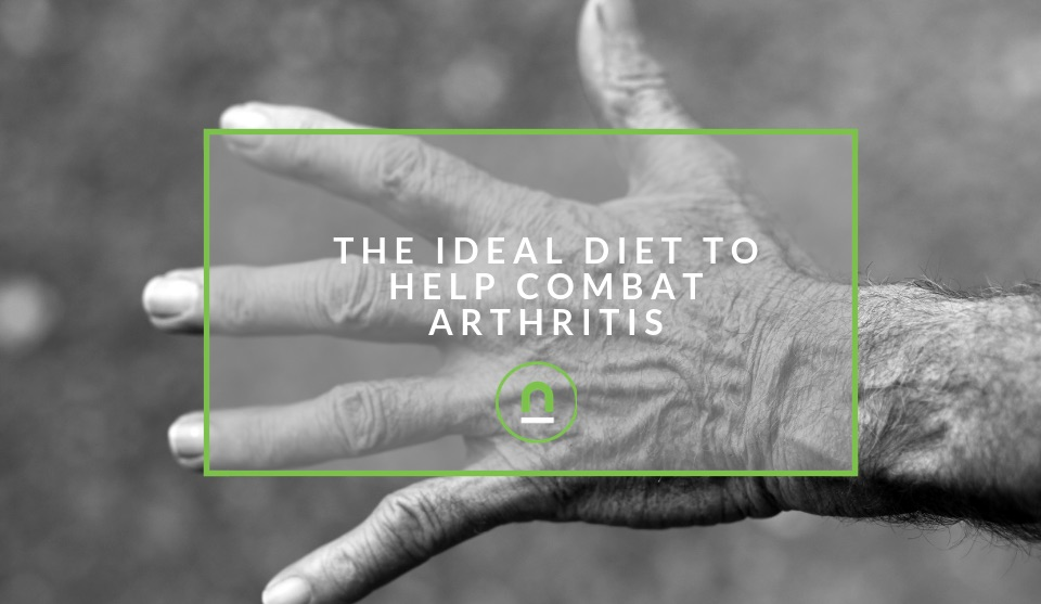 How diet can help arthritis suffers