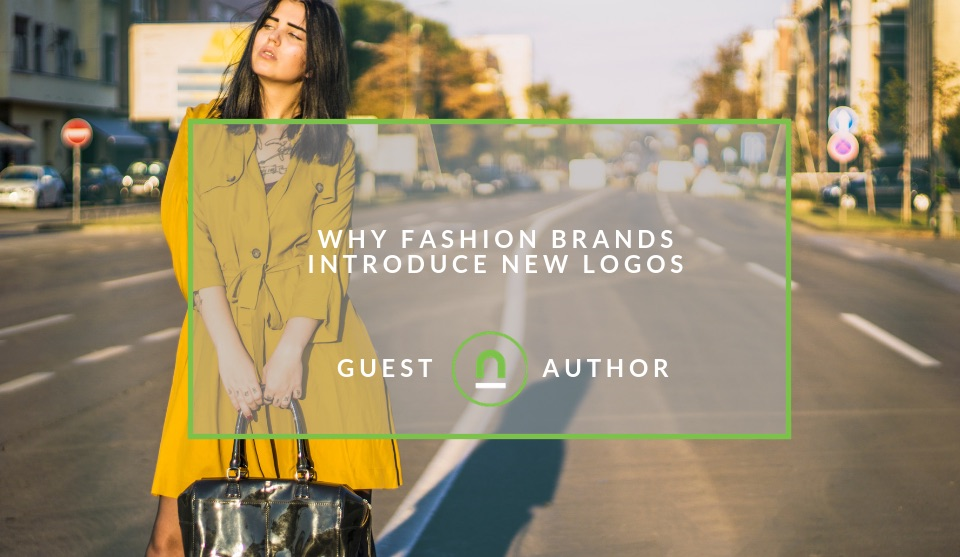 Fashion brands changing logos