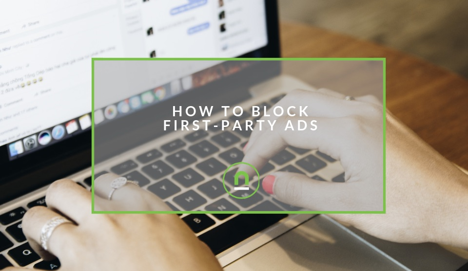 Blocking first party ads