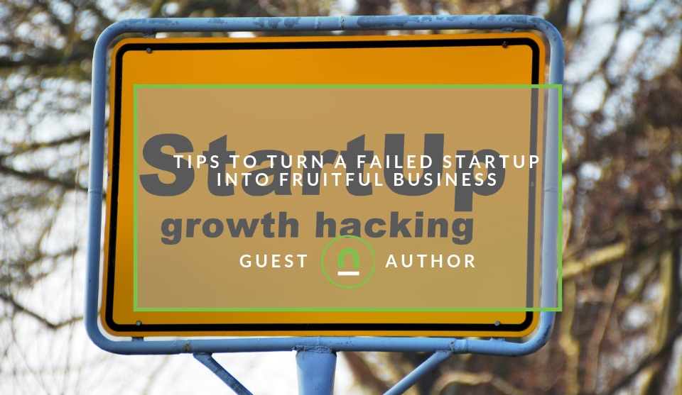 How to turn a failing startup into a successful business