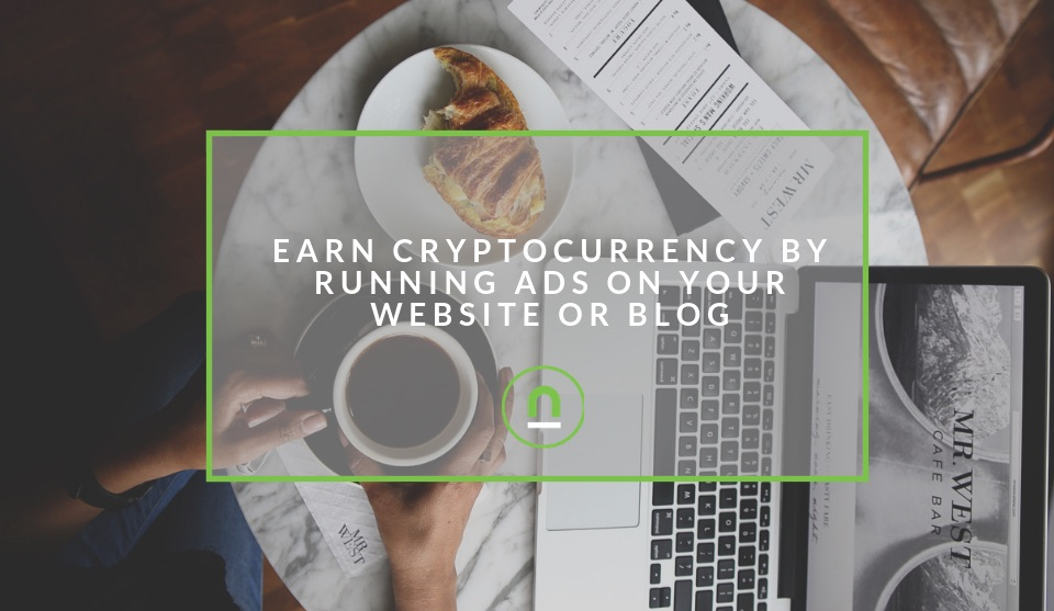 Sign up for cryptocurrency ad networks