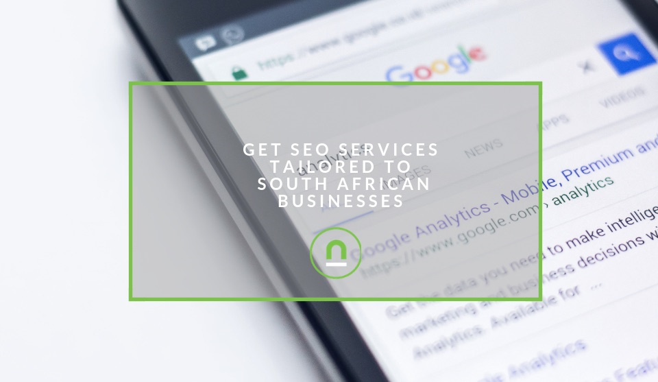 Professional SEO services in South Africa