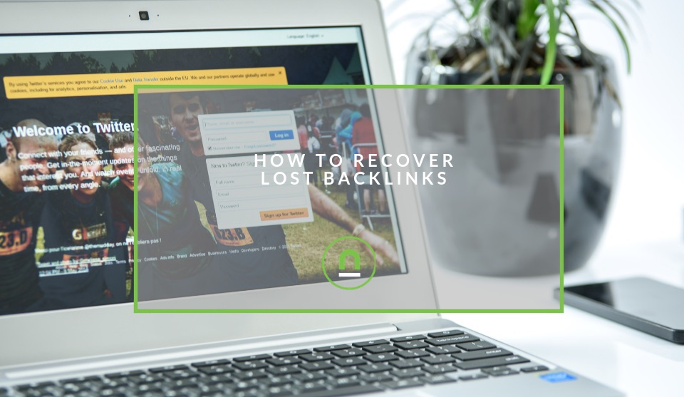 Reclaiming backlinks you have lost