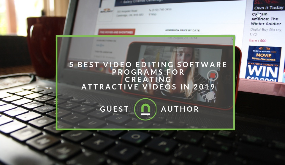 Video editing software for stunning videos