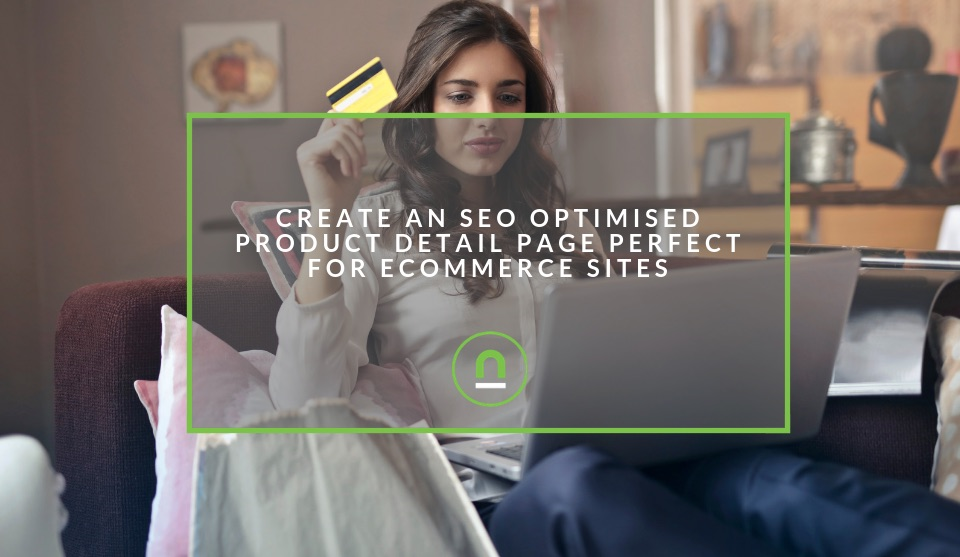 SEO optimised eCommerce Product page
