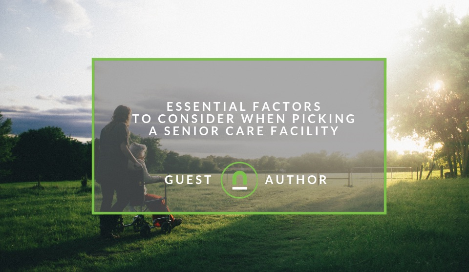 Picking A Senior Care Facility