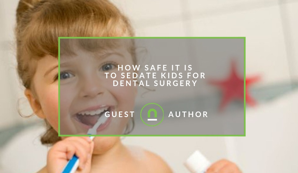 Using Anaesthesia on kids for dental work
