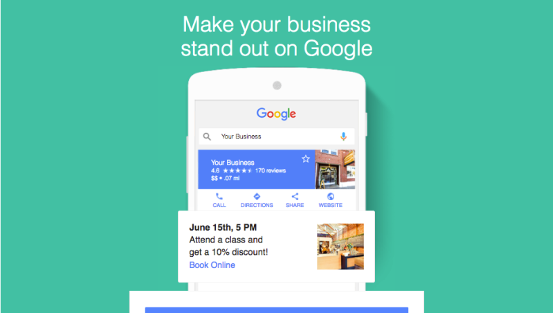 Google Posts & Google My Business