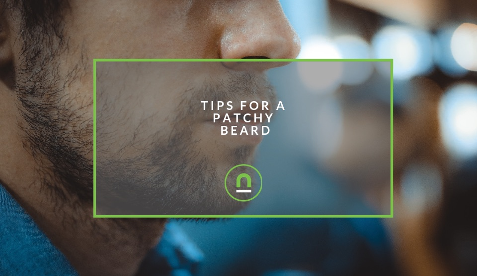 Grooming tips for a patchy beard