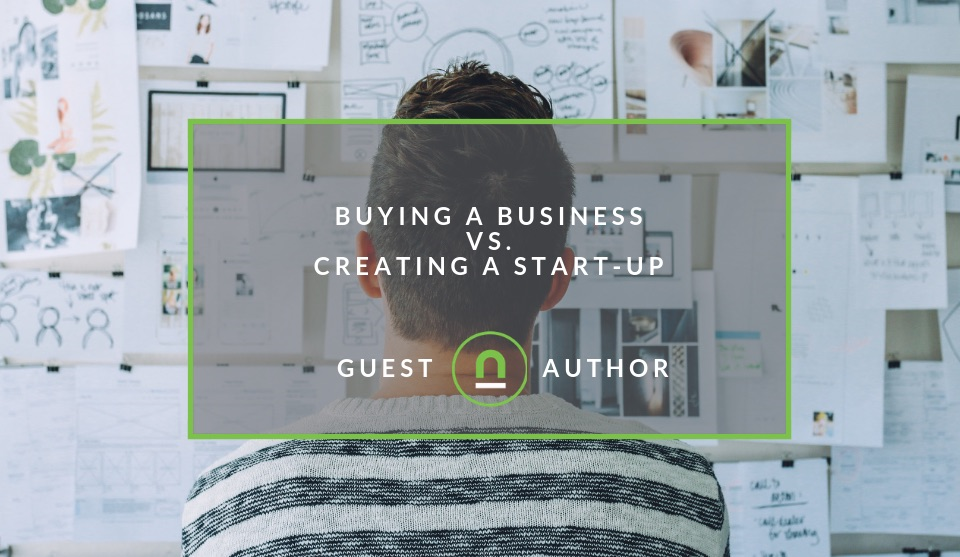 Benefits of buying a business over creating a startup
