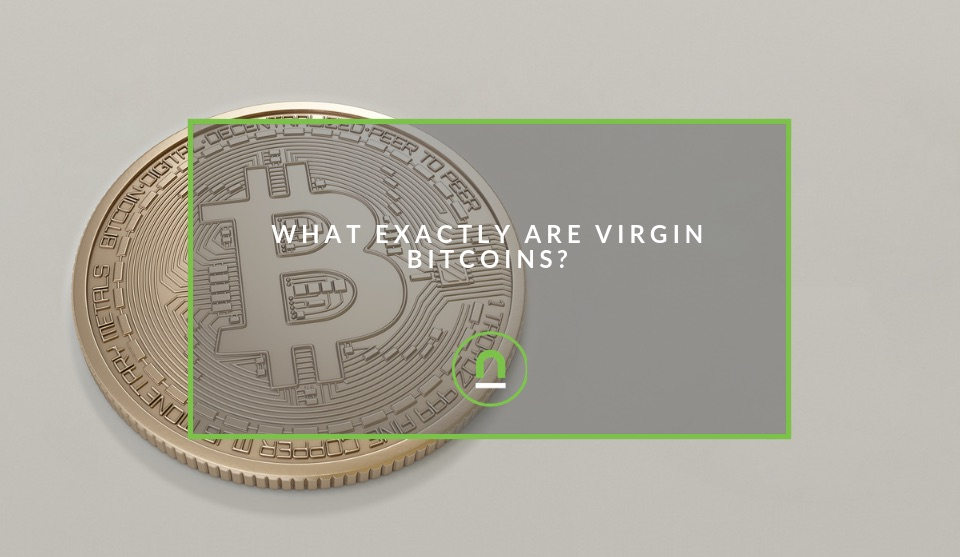 An explanation for virgin bitcoins