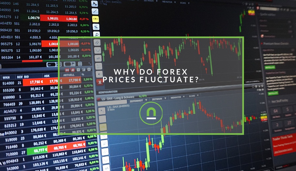 Why forex prices move up and down