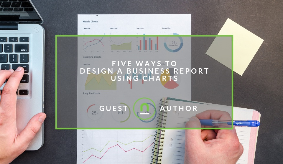 Design reports using charts