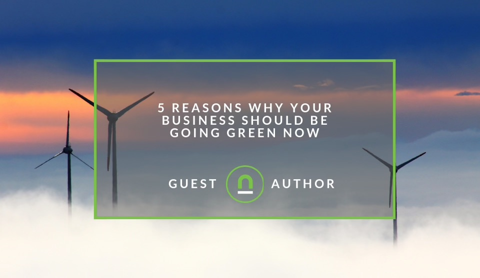 Benefits of going green as a business