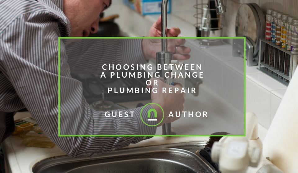 Plumbing repair or replacement