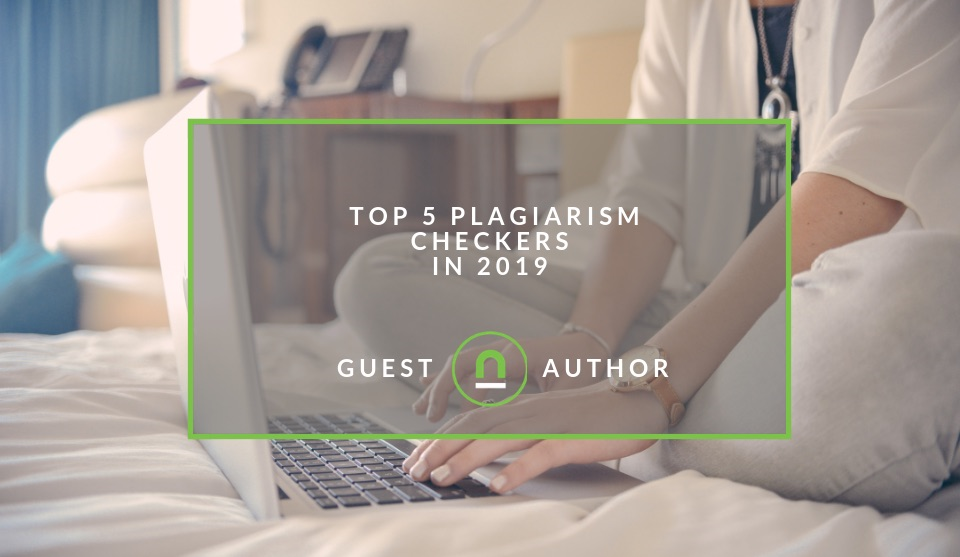 Best plagiarism checkers in 2019