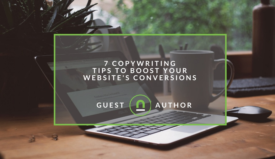 Improve your copywriting for better conversion rates