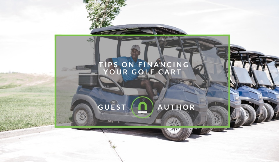 Taking a loan to buy a golf cart