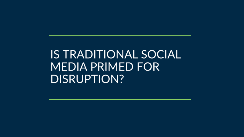Is it time to disrupt the social media ecosystem