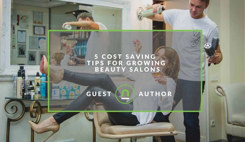 Reduce cost at beauty salon