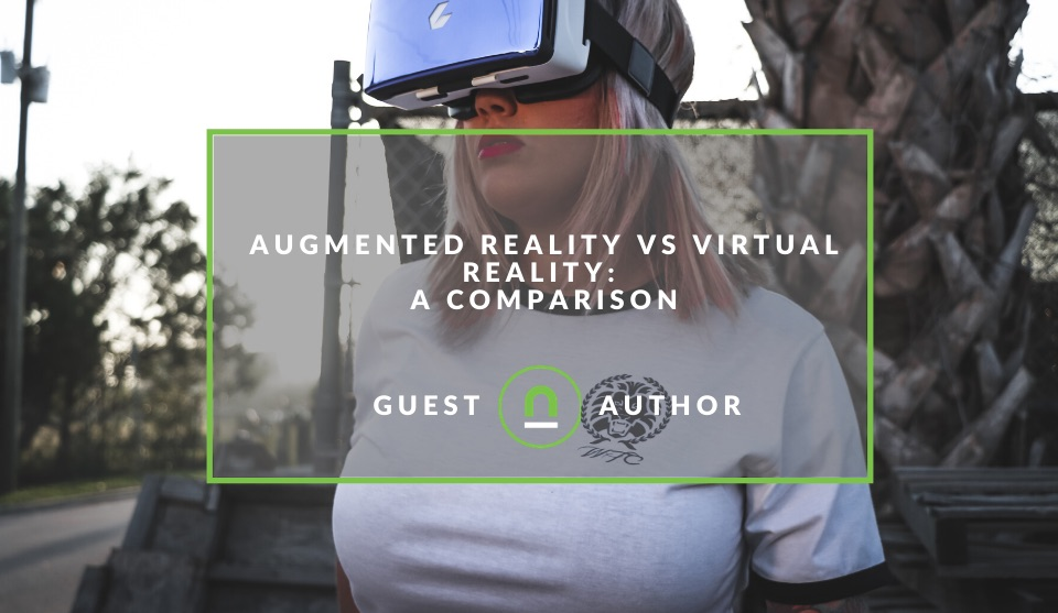 Virtual Reality Vs Augmented Reality Applications