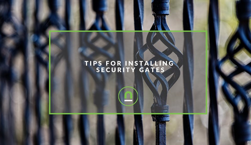 Installing security gate tips