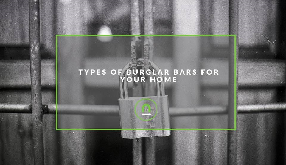 Types of home burglar bar solutions