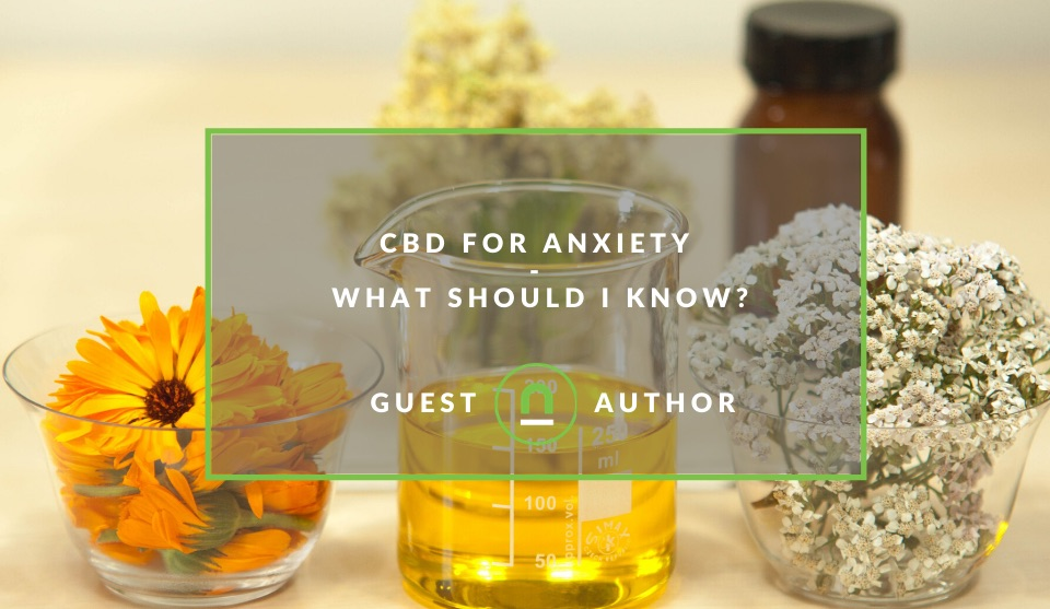 How to use CBD to treat anxiety