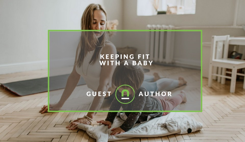 Exercising with baby tips
