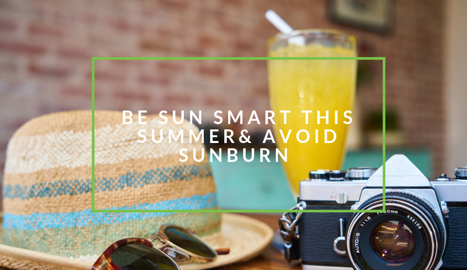 Protect yourself against sunburn