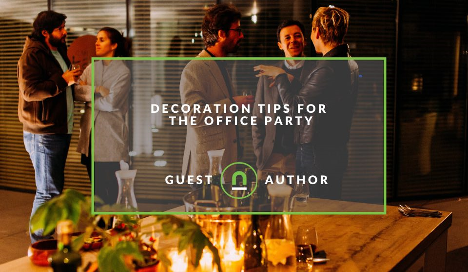 Plans for decorating the office for a party
