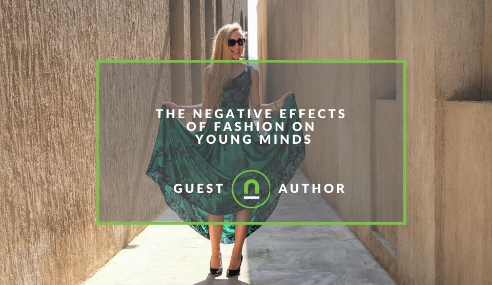 Fashions negative effect on children and teens