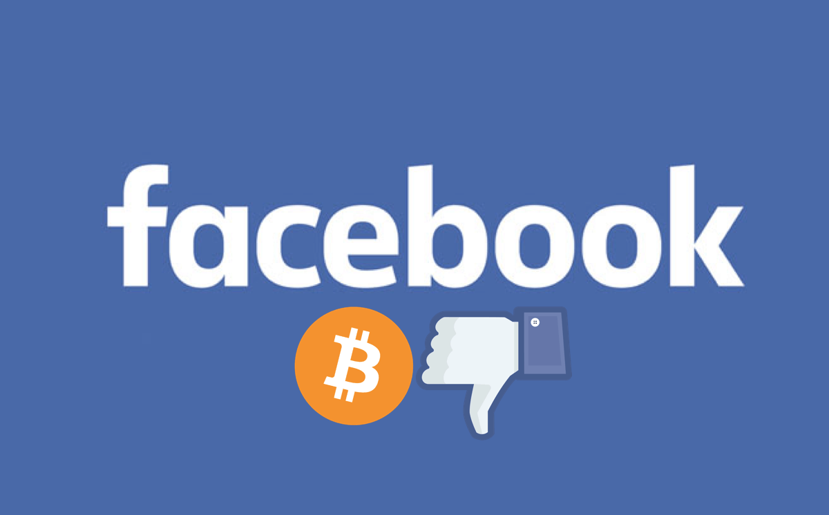 Facebook bans crypto ads