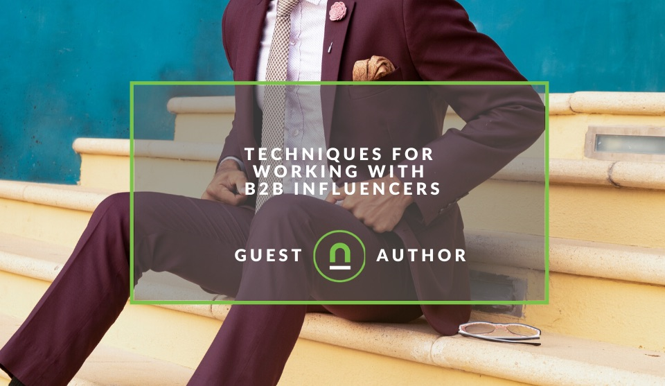 How to work with B2B influencers