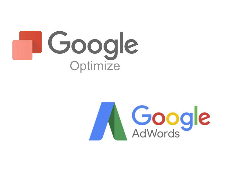 Combine google optimize with Adwords
