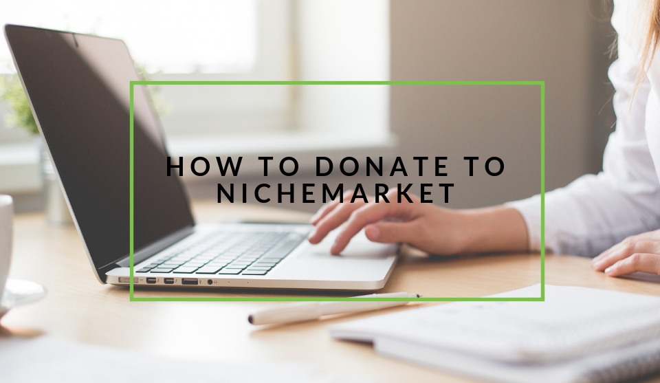 Donate and fund nichemarket projects