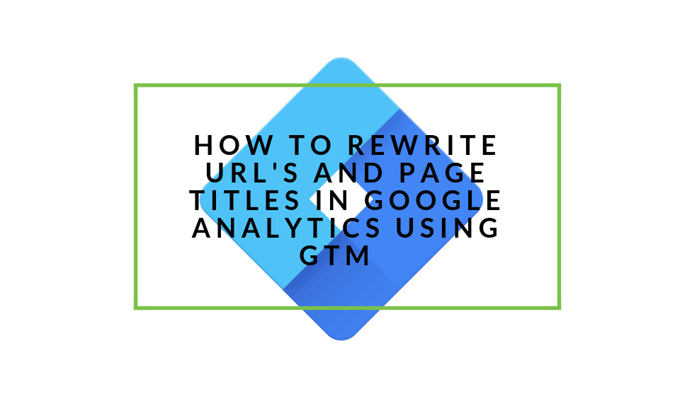 Rewrite links in GA with GTM