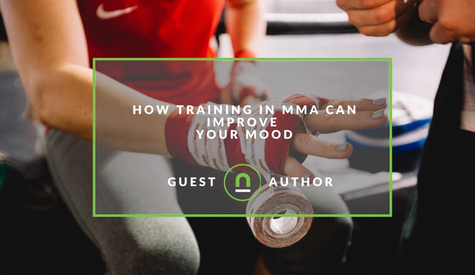 How Training In MMA can improve your mood
