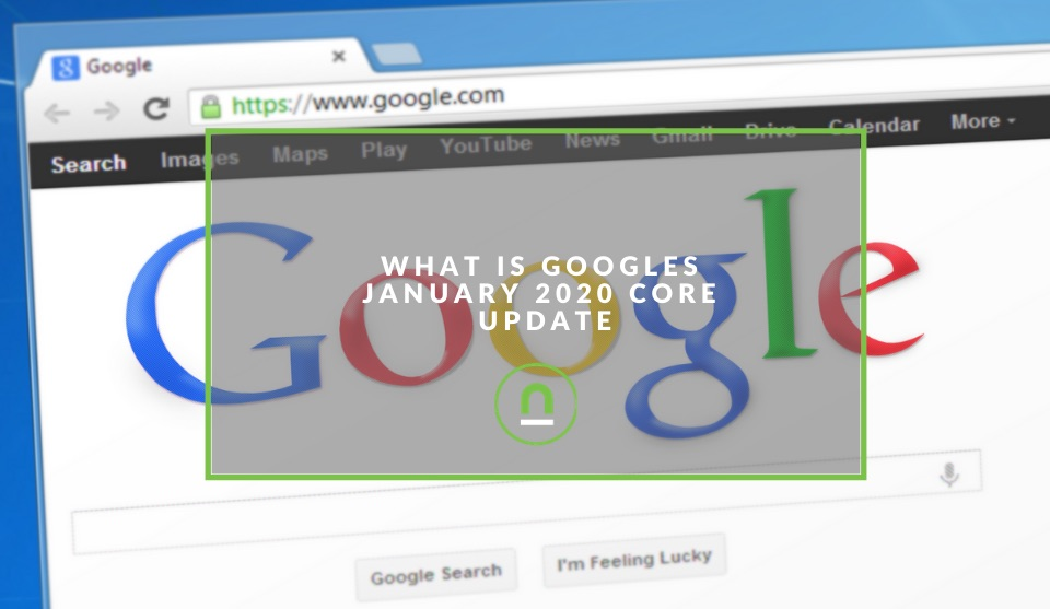 Core update Jan 2020 Google Search